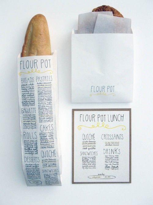 Flour pot.