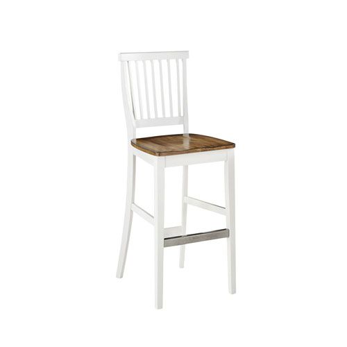 americana whiteoak bar stool home styles furniture bar height 28 to 36 inch