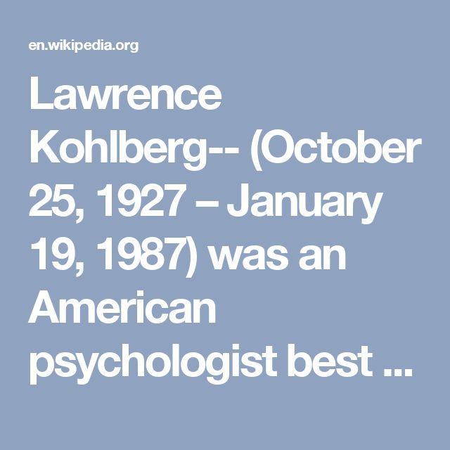 17 best ideas about lawrence kohlberg on pinterest for Moral development 0 19