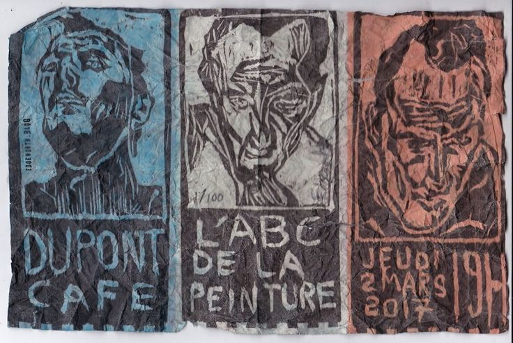 L'ABC DE LA  PEINTURE : EDGEWORTH LIMITED EDITION PRINT SIGNED STAMPED NUMBERED #PopArt