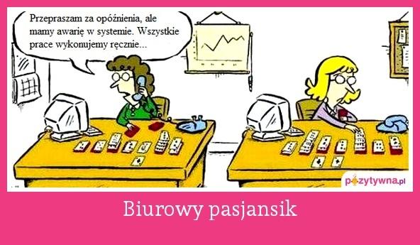 Biurowy pasjansik  :