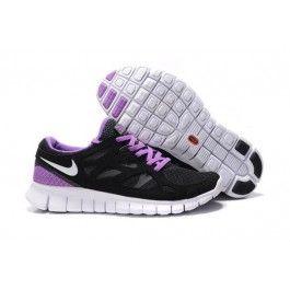 Nike Free Run+ 2 Unisex Svart Lilla | Nike lagersalg sko | billige Nike sko på nett | Nike sko nettbutikk norge | ovostore.com