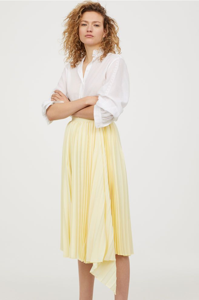 a3aa1e010 Pleated skirt in 2019 | Fashion Western | Pleated skirt outfit ...