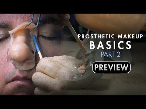 Makeup Effects Tutorial - Prosthetic Makeup Basics: Gelatin Facial Appliances Part 2 with Rob Burman