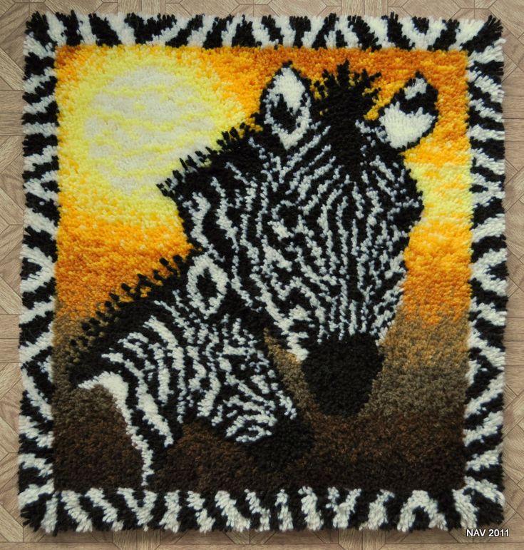 Zebra Pattern Horse Rug: The 28 Best Latch Hook Rug Kits