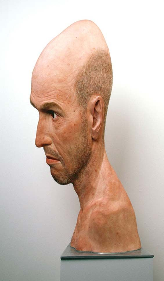Evan Penny's Hyperrealistic And Distorted Human Sculptures Explore Time And Self-Perception