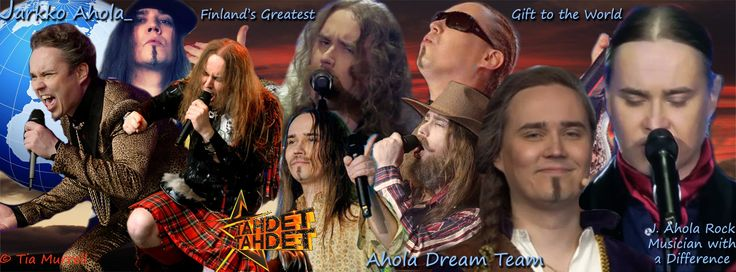 Created to celebrate Jarkko (J.) Ahola's performance on the Finnish TV Show called Tähdet, tähdet. ( the stars, the stars )