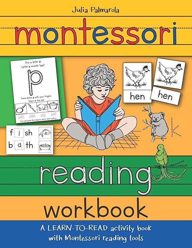 Epub Montessori Reading Workbook A Learn To Read Activity Book