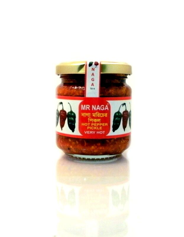 FREE P&P available on Mr Naga Chilli Pickle from the no1 Asian Supermarket online. Naga Jolokia Chilli Paste and more! Free delivery conditions apply.