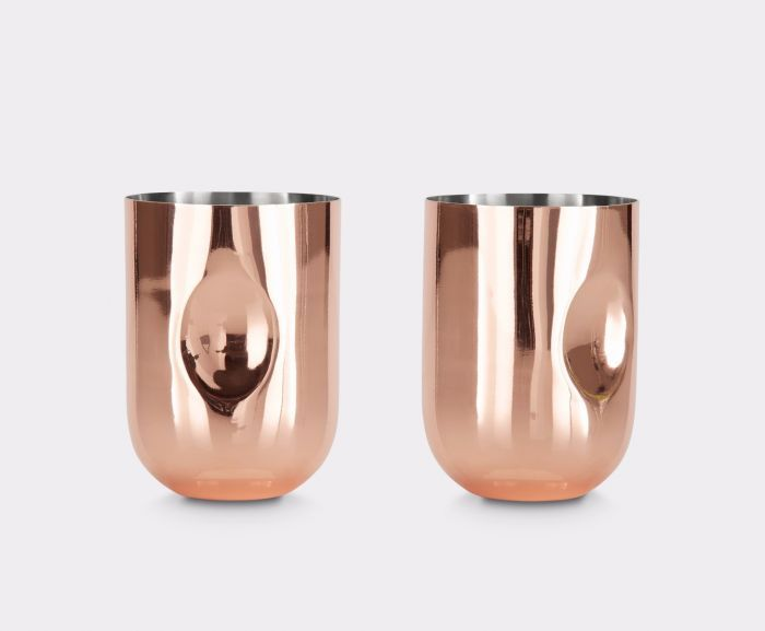 <p>Serve memorable drinks and drink your creations in style with our set of 2 Moscow Mule short cocktail glasses. Ideal paired with our Plum Cocktail Shaker and Martini Glasses.</p>