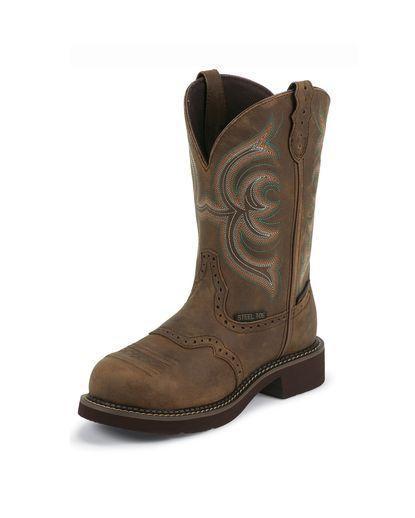 Women's Aged Bark Waterproof Steel Toe Boot - WKL9984