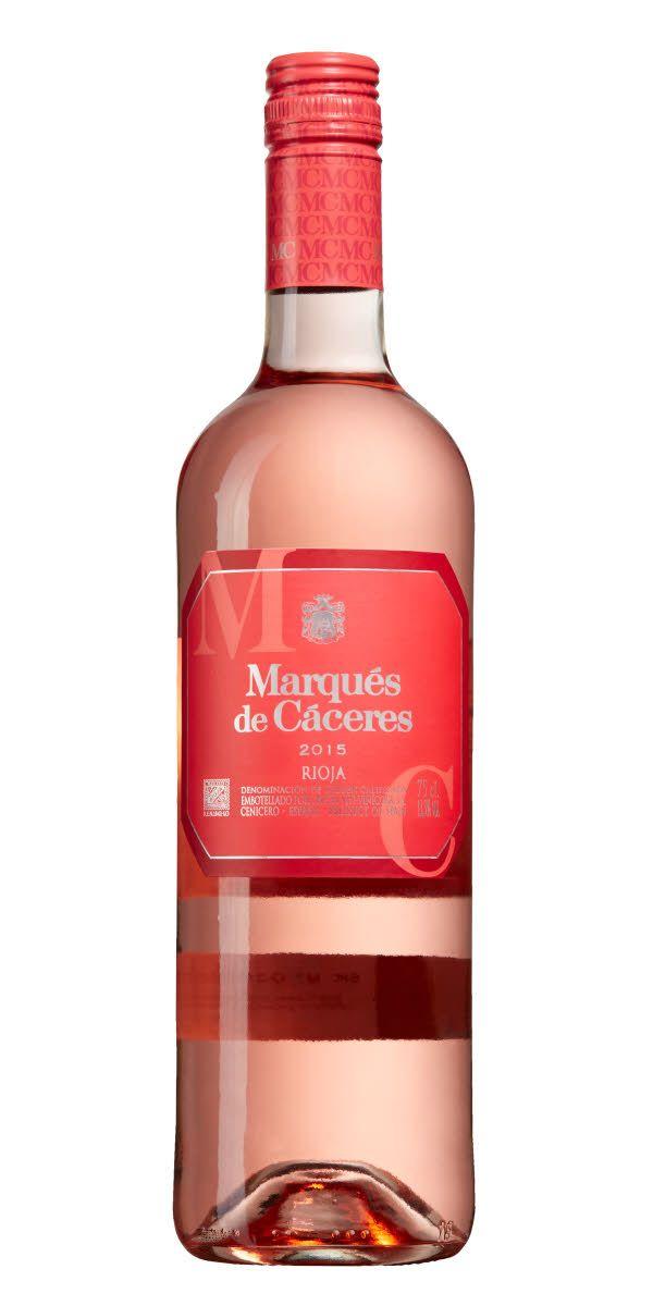 Nått så sällsynt som en Riojarosé! Supermodern, friskt matvänlig stil. Vinet är vackert ljusrosa åt det rödare hållet. Doften är fruktig och frisk, med inslag av röda bär.