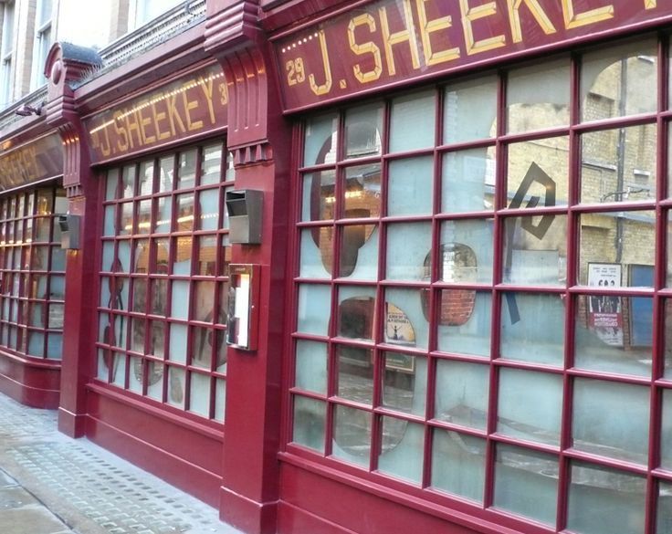 Come to Sheekey's for great seafood and fish. It's conveniently located in Covent Garden. The restaurant is over 100 years old and has a top hatted doorman. A London classic. :-)