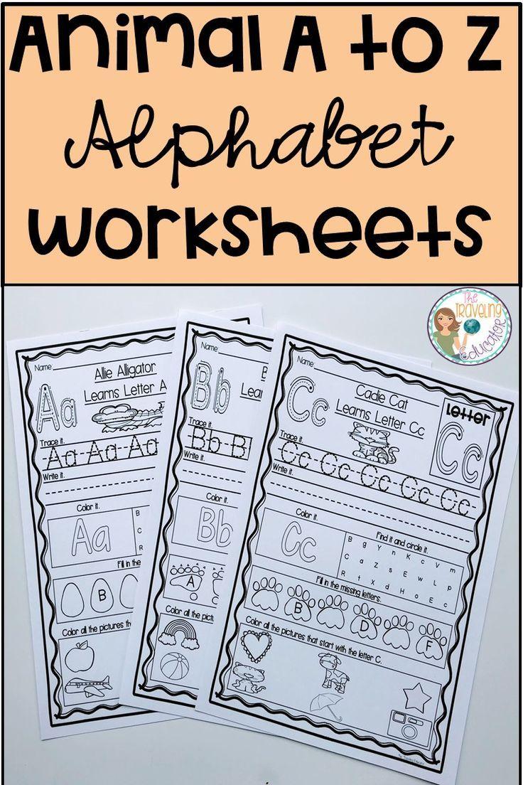 Alphabet Worksheets A To Z Kindergarten Alphabet Worksheets Alphabet Worksheets Kindergarten Alphabet Kindergarten Elementary Reading Activities [ 1104 x 736 Pixel ]