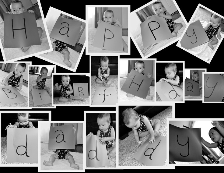 Made this for Daddy's Birthday :O)