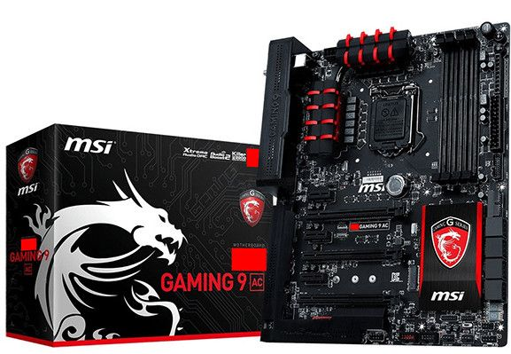 The 9-series Gaming ITX offers 6-phase VRM, single PCI-Express 3.0 x16, 802.11ac networking, Killer E2200 NIC and Audio Boost