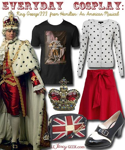 Everyday Cosplay: King George III from Hamilton: An American Musical