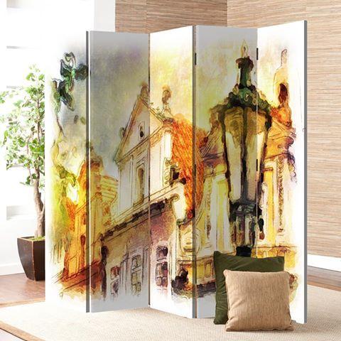 Ένα φορητό σκηνικό στο σπίτι σου!  Παραβάν: http://www.houseart.gr/select_use.php?id=296&pid=3967  #houseart #sticker #paravan #display #painting