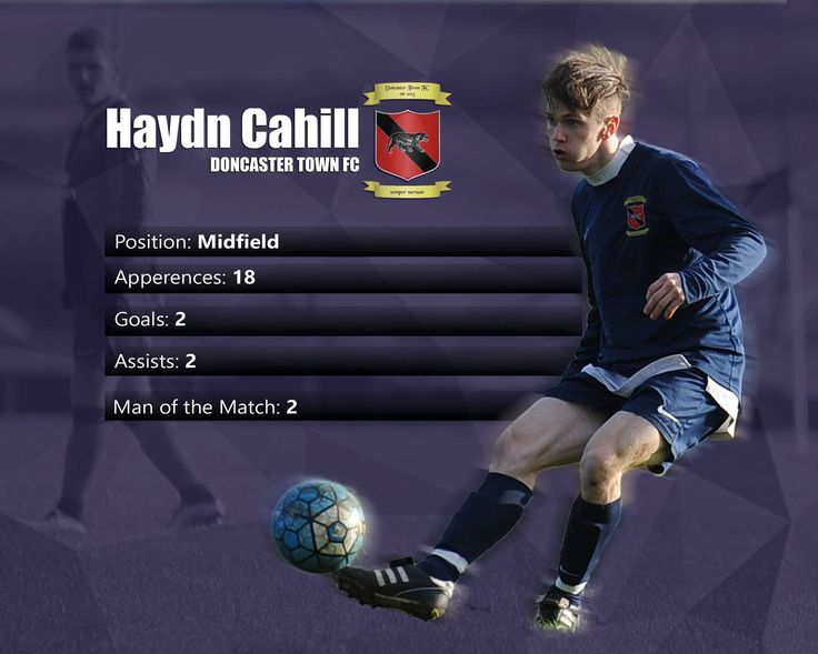 Haydn Cahill Doncaster Town FC