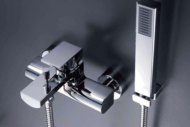 ARCH Bath/Shower Mixer. #bath #shower #mixer #faucet #JUSTIME