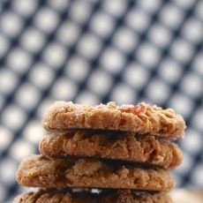 Peanut Butter Bacon and Dark Chocolate Cookies | Joy the Baker