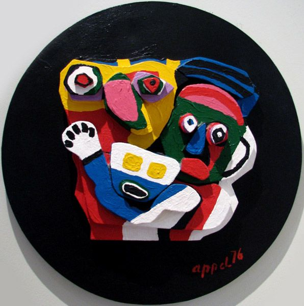 karel appel | Karel Appel Sculpture - Floating Family