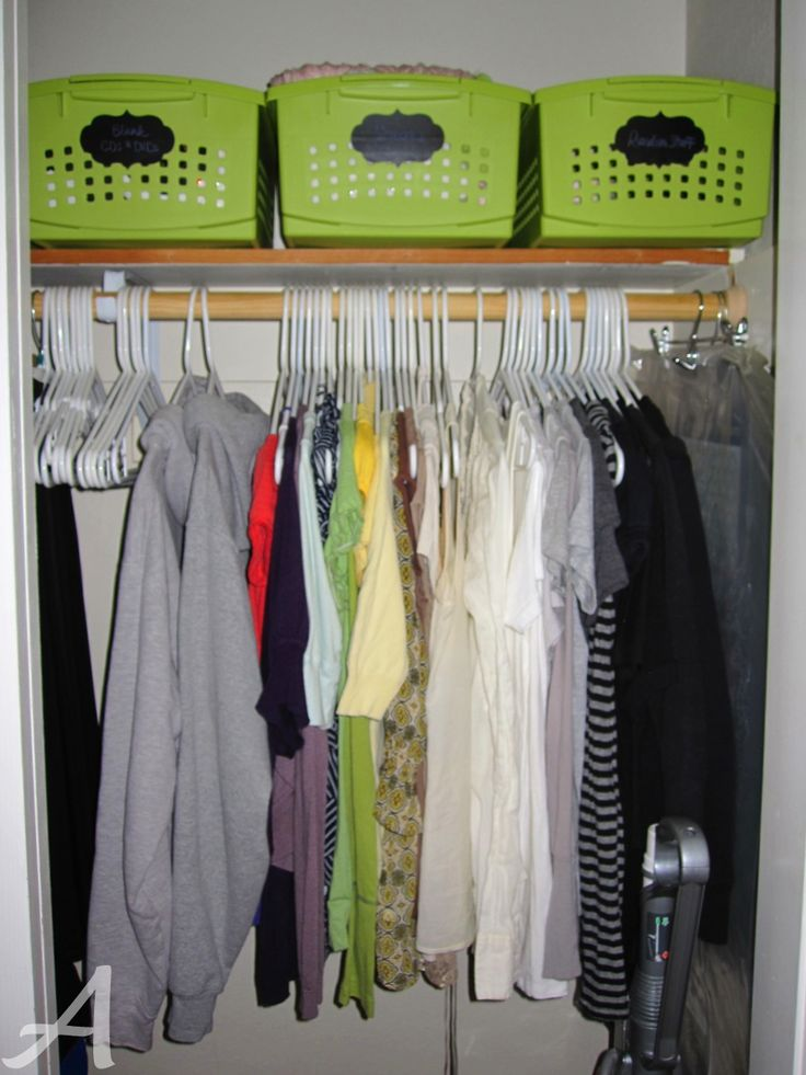 Small Closets Donu0027t Have To Be Chaotic And Packed To The Gills! Organizing