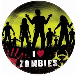 Zombies Halloween party!