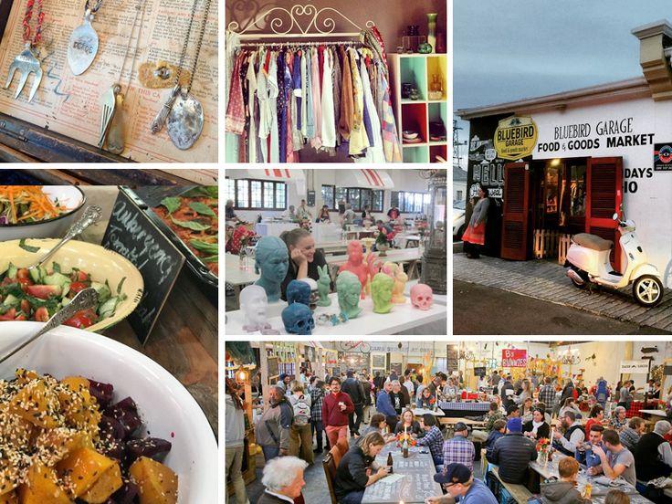Markets in Cape Town - Bluebird Garage Market - Photos from website