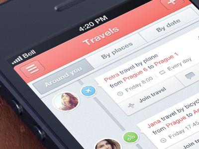 Travel app  by Jakub Antalik