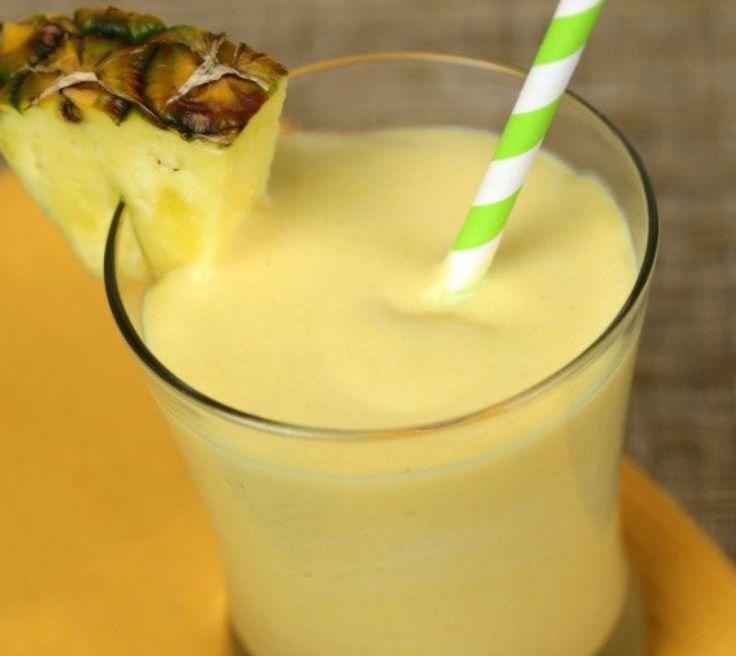 Une recette de smoothie coloré, santé et très facile à préparer pour commencer la journée du bon pied!