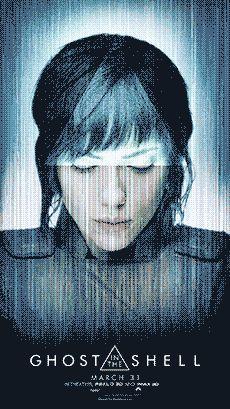 Fantasma en el carácter de Shell posters introducir el resto de la Sección 9 - Polígono