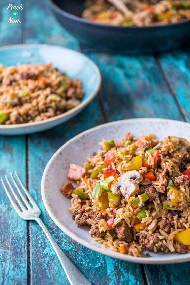 Syn Free Cajun Dirty Rice | Slimming World-2