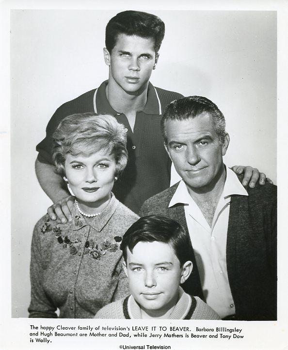 JERRY MATHERS TONY DOW BARBARA BILLINGSLEY LEAVE IT TO BEAVER 1960 ABC TV PHOTO #Photos