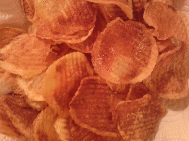 Patatine fritte rigate