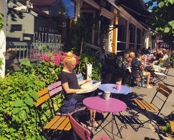 Gule galleri Stavern Norway
