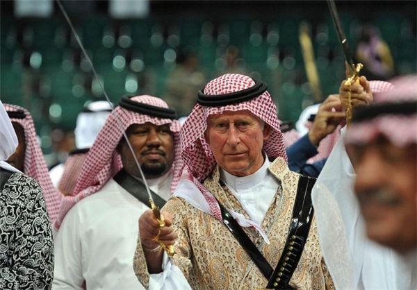 و تو چه میدانی ، چیست در پس زمزمه مبهم رقص.... مخصوصا که رقاصش ولیعهد انگلیس باشه و تو عربستان سعودی رقص شمشیر کنه!!!!!!