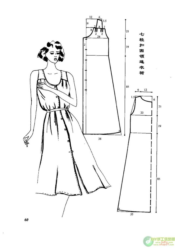 267 best modellismo e sartoria images on Pinterest | Sewing patterns ...