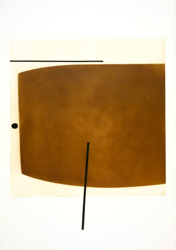 Victor Passmore Brown Image Two', 1978