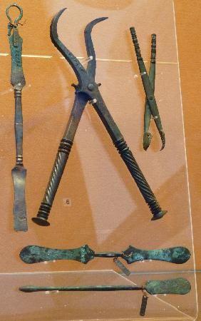 Dental Instruments found at Pompeii