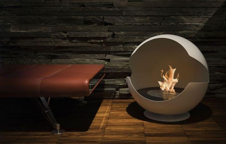 La cheminée allumée est l'une des meilleures vues en hiver. Mais comment en profiter de façon plus respectueuse de l'environnement? La cheminée bio éthanol