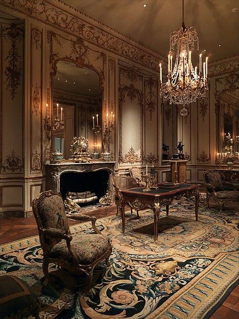 Boiserie from the Hôtel de Varengeville, French, 1736-52.