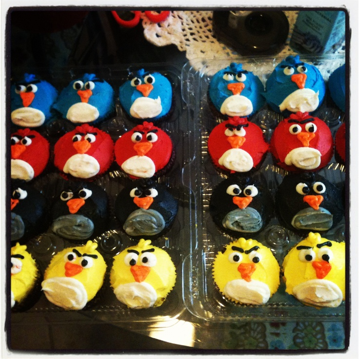 Angry Birds Cupcakes ...