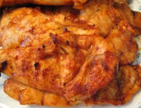 Peachtree Cooking: Firehouse BBQ Grilled Chicken