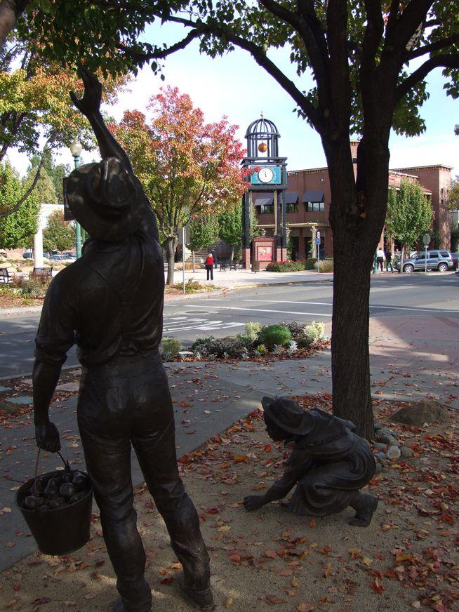 Downtown Vacaville, California