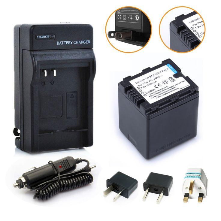 $22.99 (Buy here: https://alitems.com/g/1e8d114494ebda23ff8b16525dc3e8/?i=5&ulp=https%3A%2F%2Fwww.aliexpress.com%2Fitem%2F2500mAh-VW-VBN260-VBN260-Camera-Battery-Charger-Plug-Adapter-For-PANASONIC-VBN130-VW-VBN390-HC-X920M%2F32490549997.html ) 2500mAh VW-VBN260 VBN260 Camera Battery + Charger + Plug Adapter For PANASONIC VBN130 VW-VBN390 HC X920M TM900 SD800 HS900 SD900 for just $22.99