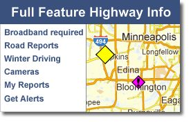 Minnesota Department of Transportation  Minnesota's 511 service helps commuters and travelers access information regarding weather-related road conditions construction, traffic incidents and congestion. Watch traffic cam's too.