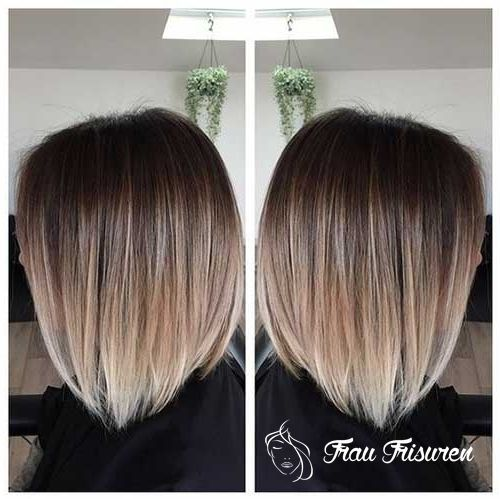 Bleib Trendy Mit Diesen Ombre Colored Bob Frisuren In 2019