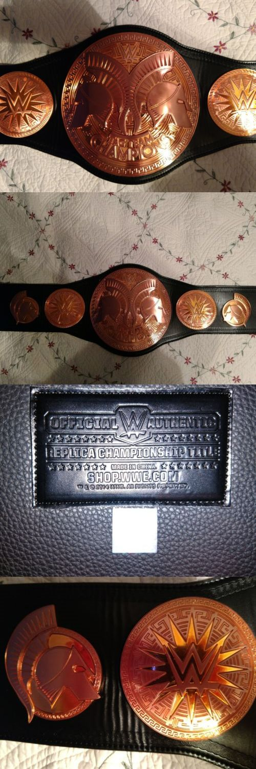 Wrestling 2902: Wwe Tag Team Championship Replica Belt -> BUY IT NOW ONLY: $250 on eBay!