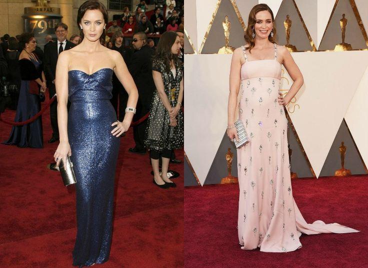 Celebrity na Oscarech tehdy a nyní - Emily Blunt